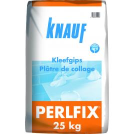 Plâtre de collage Perlfix KNAUF - 25 kg
