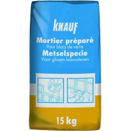 Mortier préparé pour blocs de verre 15 kg KNAUF