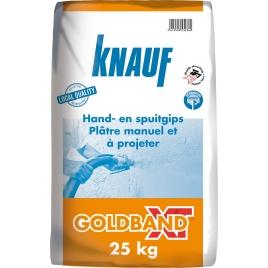 Enduit de plâtre Goldband XT 25 kg KNAUF