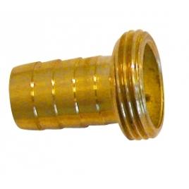Raccord cannelé laiton male M26/34 Ø25mm SPID'O
