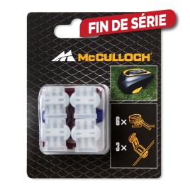 Clips de connexion 6 pièces MCCULLOCH