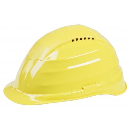 Casque de chantier jaune