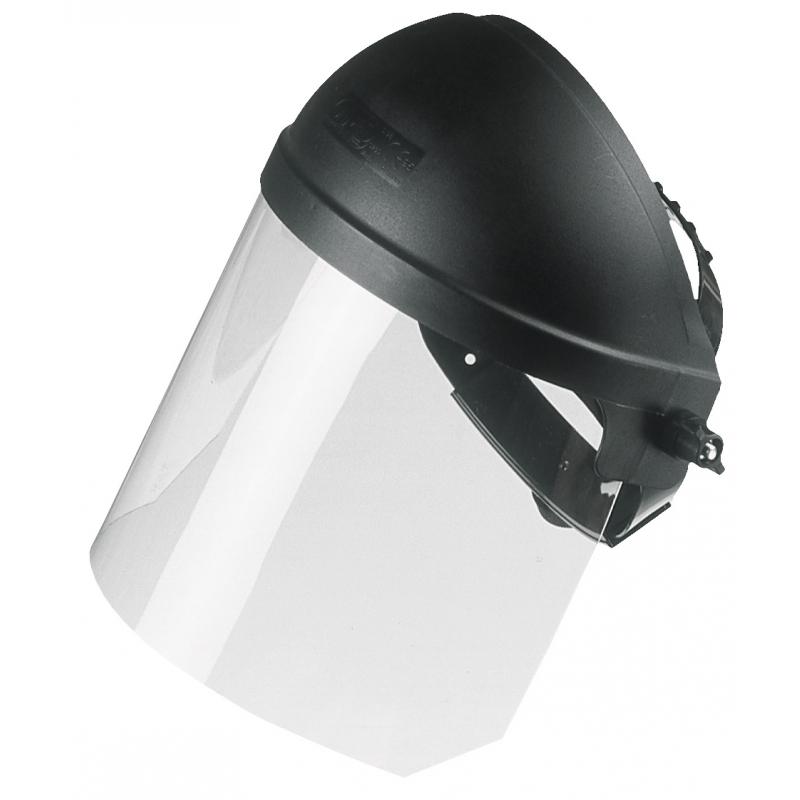 casque de protection avec visi re. Black Bedroom Furniture Sets. Home Design Ideas