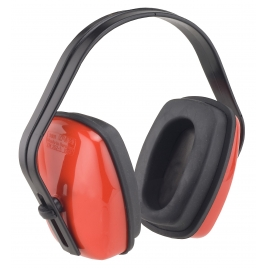 Casque anti-bruit rouge