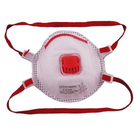 Masque anti-poussière avec valve FFP3