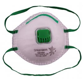 Masque anti-poussière avec valve 2 pièces - FFP1