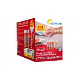 Kit barrière contre l'humidité 4 + 1 gratuit AQUAPLAN