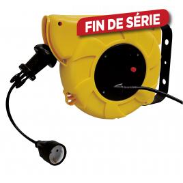 Enrouleur rétractable 3G1.5 15 m PEREL