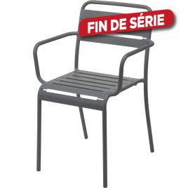 fauteuil de jardin 525 x 51 x 795 cm gris - Chaise De Jardin