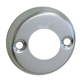 Rosace pour poignée en aluminium 2 pièces