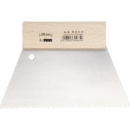 Couteau à colle avec poignée en bois 180mm - Denture B3