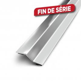 Barre de seuil multi-niveaux 93 cm - 30 mm - Inox
