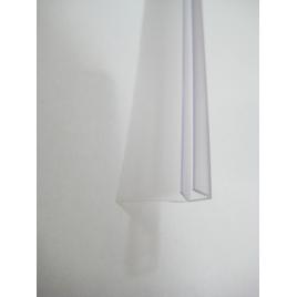 Joint d'étanchéité en forme de F pour paroi de douche AURLANE