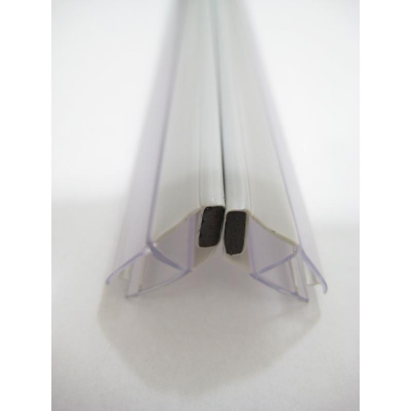 joint magn tique d 39 angle pour paroi de douche 2 pi ces aurlane. Black Bedroom Furniture Sets. Home Design Ideas