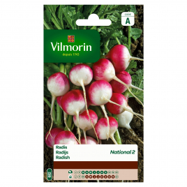 Semences de radis VILMORIN - National 2 - 10 g