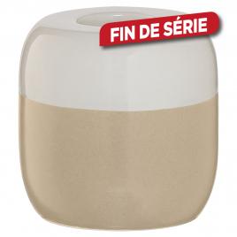 Bougeoir Sphère SEALSKIN - Sable