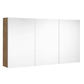 Armoire de toilette Look ALLIBERT - Chêne arlington - 120 cm