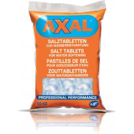 Pastilles de sel pour adoucisseurs d'eau AXAL - 10 kg