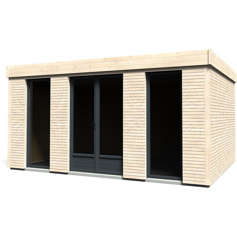 Abri de jardin Décor Home 4,8 x 3,48 m DÉCOR ET JARDIN - Mr.Bricolage