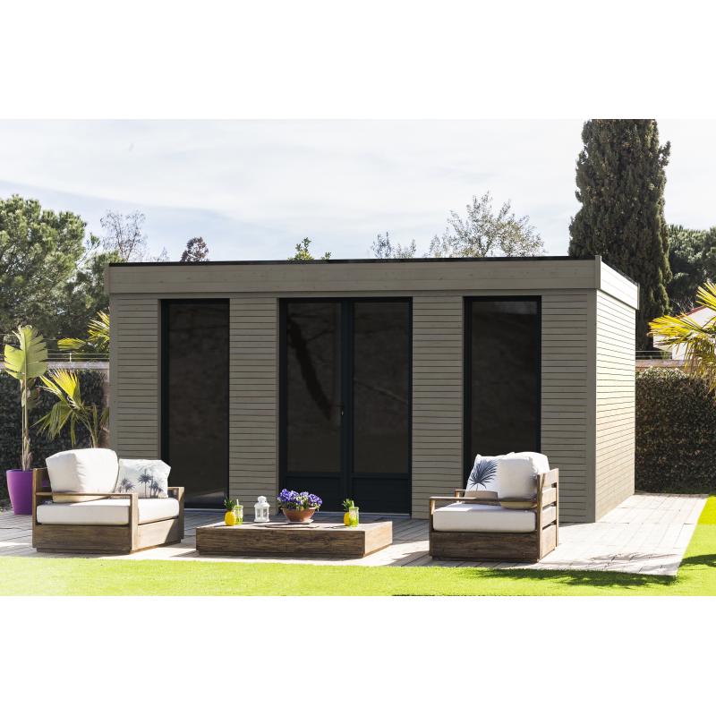 Abri De Jardin Decor Home 4 8 X 4 8 M Decor Et Jardin Mr Bricolage