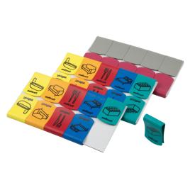 Clip marqueur pour carton 30 pièces WOLFCRAFT