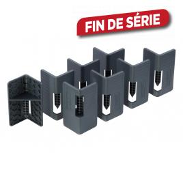 Coin empileur pour carton 8 pièces WOLFCRAFT
