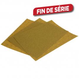 Assortiment papier abrasif décapage SandBlaster 3 pièces 3M
