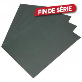 Feuille abrasive pour finition de vernis et peinture 4 pièces 3M