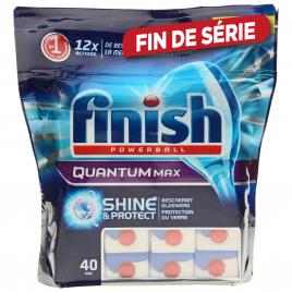 Tablette de lave-vaisselle Quantum shine & protect 40 pièces FINISH