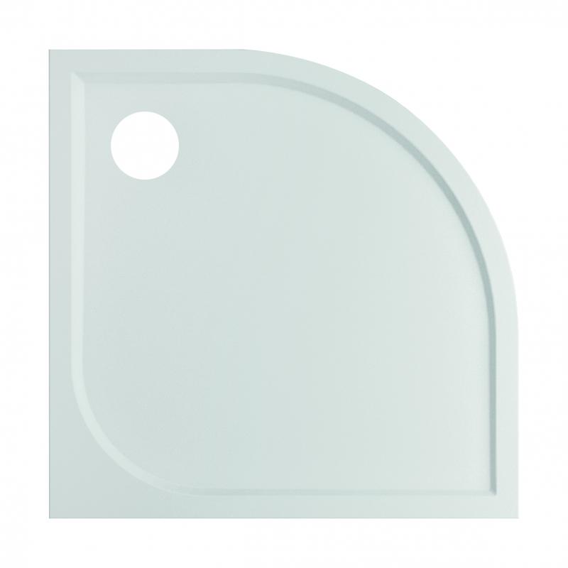 receveur de douche argon 90 x 90 x 3 cm quart de rond van marcke go. Black Bedroom Furniture Sets. Home Design Ideas