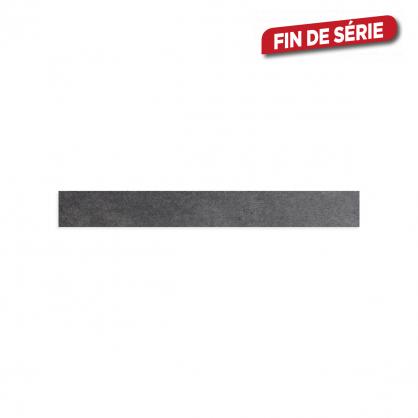Plinthe Soft Dark Grey 7,2 x 60 cm 10 pièces