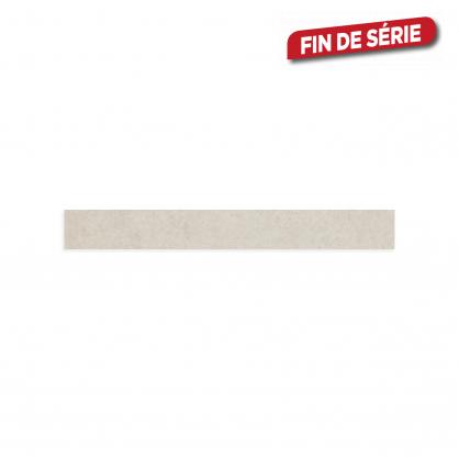 Plinthe Soft White 7,2 x 60 cm 10 pièces