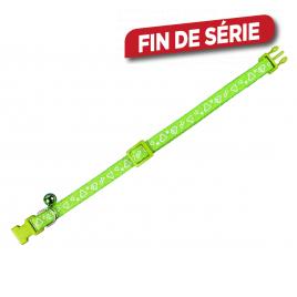 Collier pour chat 20 - 30 cm - Vert