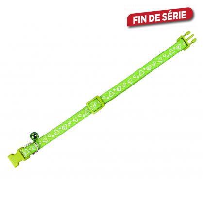 Collier pour chat 20 - 30 cm vert