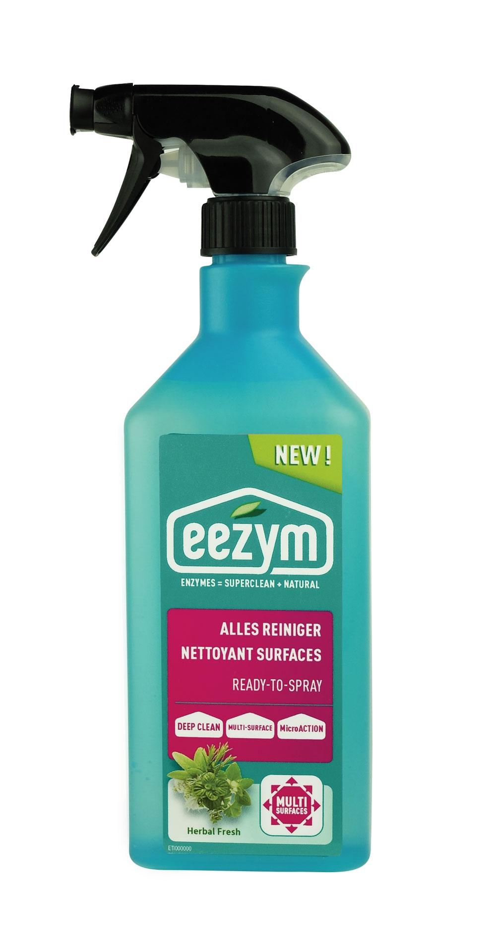 Eau De Javel Anti Mousse Terrasse spray nettoyant surfaces eezym - mr.bricolage