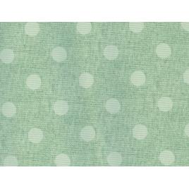 Nappe cirée en fibranne gaufré 140 cm au mètre HOBBYTEX - Antibes vert
