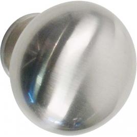 Bouton brillant en zamac Ø 30 mm