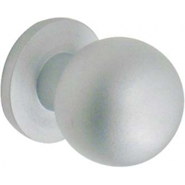 Bouton en aluminium Ø 25 mm
