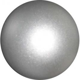 Bouton gris en plastique Ø 25 mm