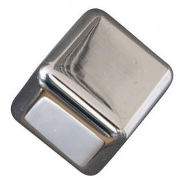 Bouton cubique en zamac