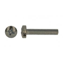 Vis à métaux avec tête cylindrique - 3 x 16 mm