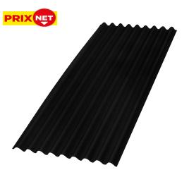 Plaque ondulée Topline 86 x 200 cm AQUAPLAN - Noir