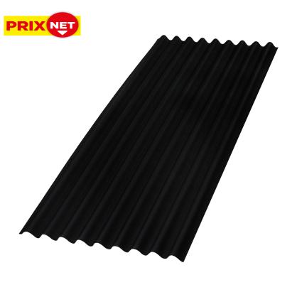 Plaque ondulée noire Topline 86 x 200 cm AQUAPLAN