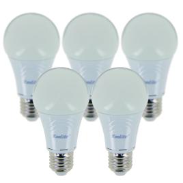 Ampoule boule LED E27 9 W 5 pièces XANLITE