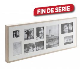 Pêle-mêle 8 photos en bois