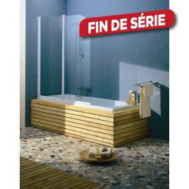 Paroi de bain Line 2 120x140cm ALLIBERT
