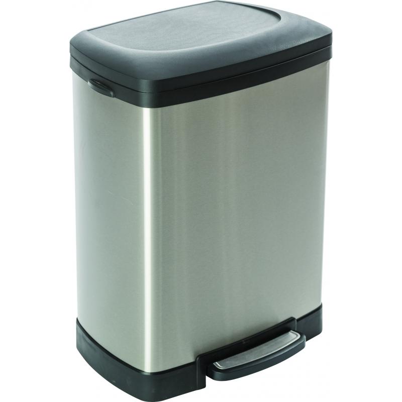 poubelle p dale rectangulaire 50 l casibel. Black Bedroom Furniture Sets. Home Design Ideas