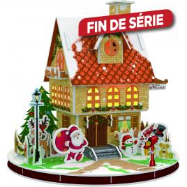 Puzzle 3D maison LED 20 x 20 cm MY VILLAGE