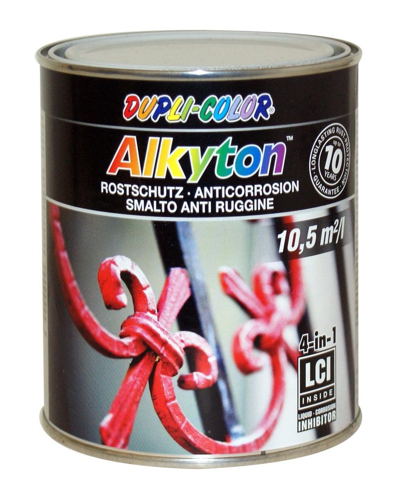 Peinture Laque Noir Mat peinture anticorrosion noir mat alkyton dupli-color - mr.bricolage