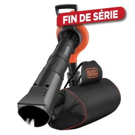 Aspirateur souffleur broyeur électrique GW3030BP-QS 3000 W BLACK&DECKER